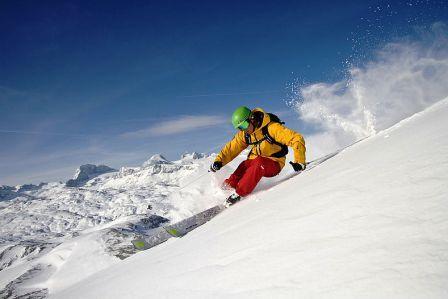 Freeride ve Ski resortu Freesports Arena Krippenstein